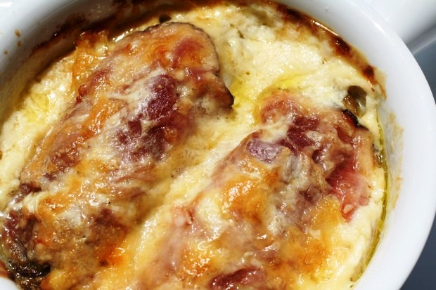 in a Flash: Baked Endive Gratins with Ham and Cheese | Discover Endive ...