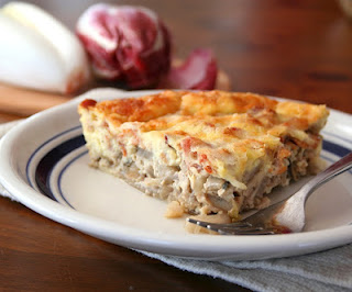 Bacon, Gruyere and Endive Quiche (Low Carb and Gluten-Free)