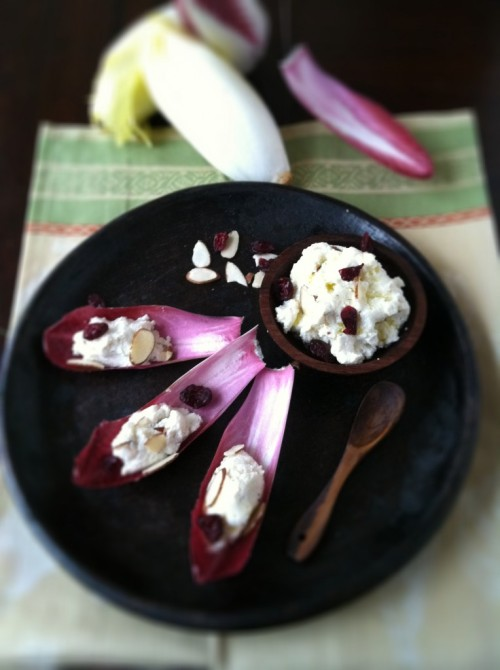 Ricotta and Endive Appetizer